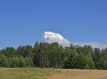 Взгляд большого облака Стоковое фото RF
