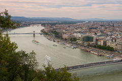 Взгляд Будапешт, Венгрии стоковое фото rf