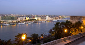 Взгляд Будапешт Стоковые Фото