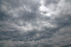 Взгляд бурного неба для предпосылки стоковые изображения