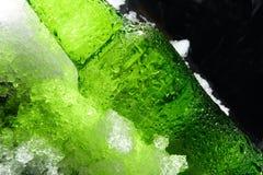 взгляд бутылки близкий поднимающий вверх Стоковое Фото