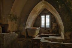 Взгляд ванны Caterina Тирренского моря стоковое фото