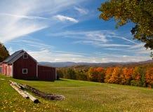 взгляд Вермонта осени Стоковые Изображения
