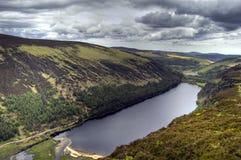 взгляд верхушкы озера Ирландии Стоковая Фотография