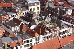 Взгляд верхушкы Zwolle Стоковые Изображения