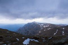 Взгляд вечера горы Costila Стоковая Фотография RF