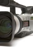 взгляд видео передней стороны детали камеры цифровой стоковое изображение rf