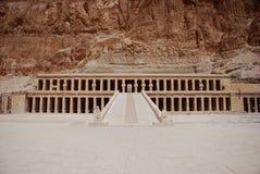 взгляд виска Египета большой Стоковые Фотографии RF