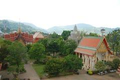 Взгляд виска Wat Chalong стоковое фото