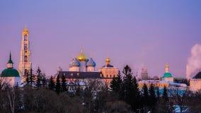 Взгляд висков и Кремля Sergiev Posad стоковое фото rf