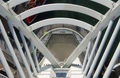 Взгляд вниз от башни Spinnaker. Великобритания Стоковая Фотография