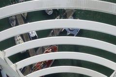 Взгляд вниз от башни Spinnaker. Великобритания Стоковая Фотография RF