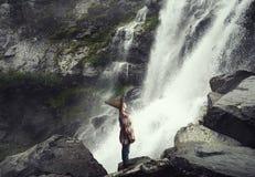 Взгляд водопада Стоковые Фотографии RF