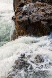 Взгляд водопада Godafoss, Исландии Стоковое Изображение