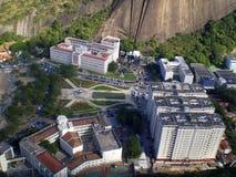 взгляд воздушного города самомоднейший стоковое изображение