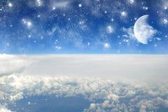 взгляд волшебства самолета Стоковое Изображение