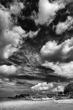 Взгляд в пляже Стоковое Фото