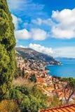 Взгляд гавани и старого городка Дубровника стоковое фото