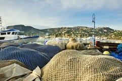 Взгляд гаван d'Andratx стоковые изображения rf