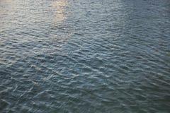 Взгляд голубого моря стоковые изображения rf