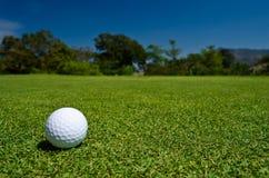взгляд гольфа шарика красивейший Стоковое Изображение RF