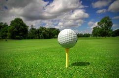 взгляд гольфа шарика Стоковые Изображения