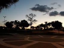Взгляд горизонта в городе Танжера Стоковое Изображение RF
