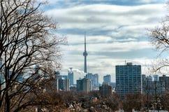 Взгляд горизонта Торонто от Касы Loma Стоковое фото RF