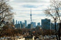 Взгляд горизонта Торонто от Касы Loma Стоковые Фотографии RF