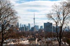 Взгляд горизонта Торонто от Касы Loma Стоковая Фотография RF