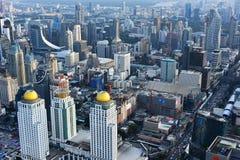 Взгляд города Бангкока, Таиланда стоковое изображение