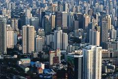 Взгляд города Бангкока, Таиланда стоковая фотография rf