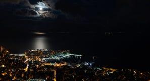 взгляд города панорамный Стоковое фото RF