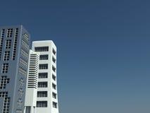 взгляд города самомоднейший Стоковая Фотография RF