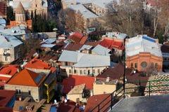 Взгляд города Тбилиси стоковая фотография rf