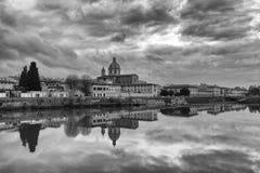 Взгляд города Флоренс Стоковое Изображение