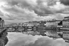 Взгляд города Флоренс Стоковое Фото