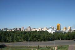 взгляд города astana Стоковые Изображения