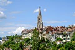 Взгляд города Bern стоковое фото