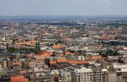 взгляд города budapest Стоковое Изображение