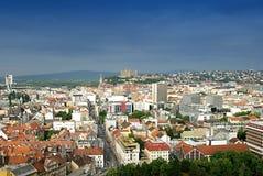 взгляд городка Стоковые Изображения RF