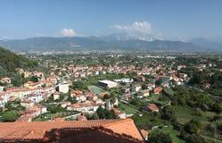 взгляд городка ameglia Стоковое Фото