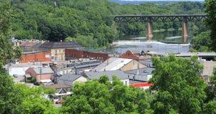 Взгляд городка Brant, Онтарио, Канада 4K видеоматериал