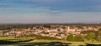 Взгляд городка Mikulov - Mikulov, чехии Стоковая Фотография