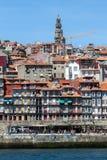 Взгляд городка ` s Порту старого Стоковые Фото