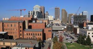 Взгляд городского Колумбуса, Огайо 4K