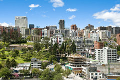 Взгляд городского пейзажа общий Стоковое фото RF