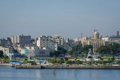 Взгляд городской Кубы Стоковая Фотография RF