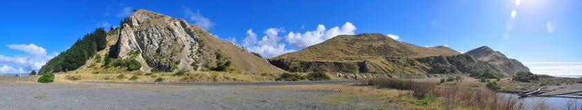 взгляд горы панорамный Стоковая Фотография RF