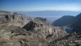 взгляд горы панорамный Стоковые Изображения